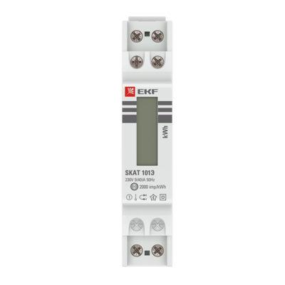 Счетчик электрической энергии модульный SKAT 101E/1 - 5(40) Ш Р M EKF; 10106M
