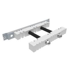 Шинодержатель 3Р стационарный для вертикальных шин 5/10 мм EKF AVERES