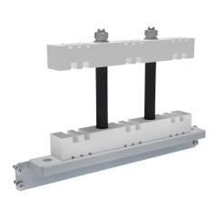 Шинодержатель 3Р стационарный для горизонтальных шин 5/10 мм EKF AVERES
