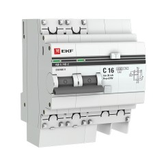 Дифференциальный автомат АД-2 16А/ 30мА (хар. C