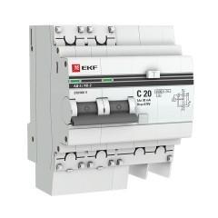 Дифференциальный автомат АД-2 20А/ 30мА (хар. C