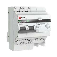 Дифференциальный автомат АД-2 S 50А/100мА (хар. C