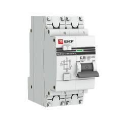 Дифференциальный автомат АД-32 1P+N 25А/100мА (хар. C