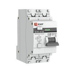 Дифференциальный автомат АД-32 (селективный) 1P+N 40А/100мА EKF PROxima
