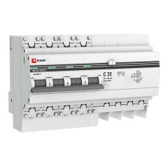 Дифференциальный автомат АД-4 S 32А/100мА (хар. C