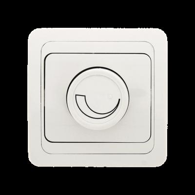 Лондон Светорегулятор 600W 220В белый EKF PROxima; EED06-101-10