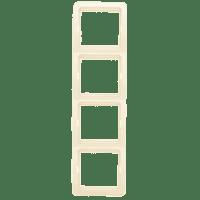 Лондон Рамка 4-местная вертикальная бежевая EKF PROxima