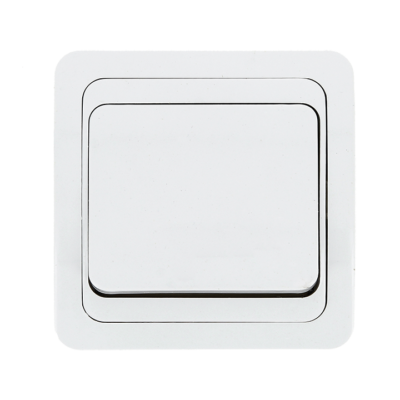 Лондон Выключатель 1-клавишный 10А белый EKF PROxima; EEV10-021-10