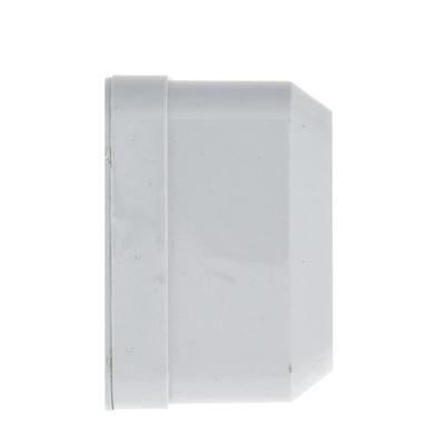 Рим Розетка 1-местная 16А с заземлением белая с защ. штор. EKF; ENR16-028-100