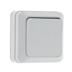 Рим Выключатель 1-клавишный 10А белый EKF