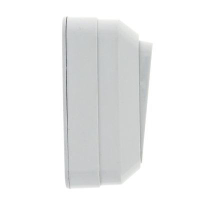 Рим Выключатель 1-клавишный 10А белый EKF; ENV10-021-10