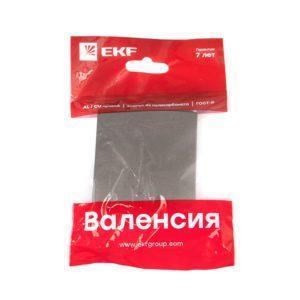 Валенсия лицевая панель выключателя проходного 1-кл. 10А графит EKF PROxima; ESV10-L-025-60
