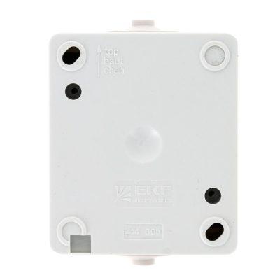 Венеция Выключатель 1 -клавишный 10А IP54 белый EKF; EVV10-021-10-54