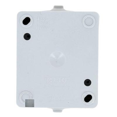 Венеция Выключатель 2-клавишный 10А IP54 белый EKF; EVV10-023-10-54