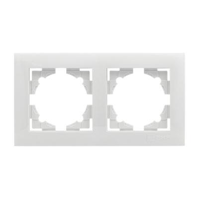 Валенсия рамка 2-местная белая EKF PROxima; EWM-G-302-10