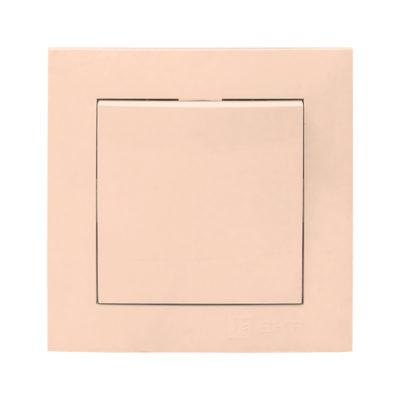 Валенсия выключатель 1-кл. 10А кремовый EKF PROxima; EWV10-021-20