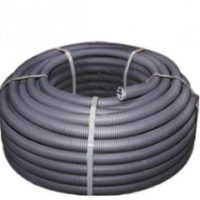 Труба гофр. FRHF с зондом d16мм (100м) черная Plast EKF PROxima