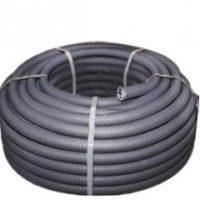 Труба гофр. FRHF  с зондом d63мм (15м.) черная Plast EKF PROxima