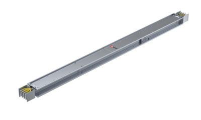 Прямая магистральная стандартная секция 1000 А IP55 AL 3L+N+PE(ШИНА) длина 3м
