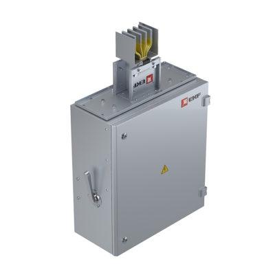 Концевая кабельная коробка 1000 А IP55 AL 3L+N+PE(ШИНА)
