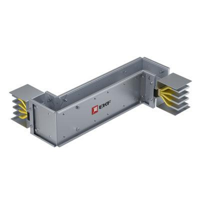 Cекция Z-образная вертикальная 1000 А IP55 AL 3L+N+PE(ШИНА)