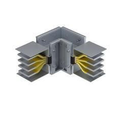 Угловая вертикальная секция 1250 А IP55 AL 3L+N+PE(КОРПУС)