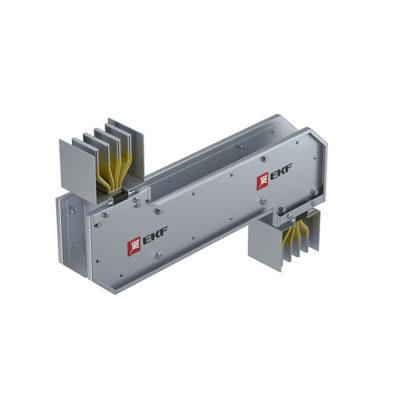 Cекция Z-образная горизонтальная 1250 А IP55 AL 3L+N+PE(КОРПУС)