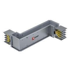 Cекция Z-образная вертикальная 1250 А IP55 AL 3L+N+PE(КОРПУС)