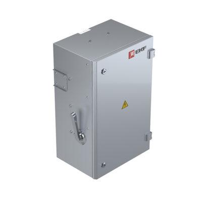 Блок отбора мощности 160А Bolt-on под MCCB (без авт.выкл.) IP55 3L+N+PE(КОРПУС)