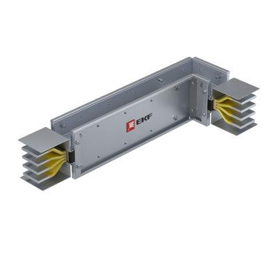 Угловая вертикальная секция c нестандартным плечом 2500 А IP55 AL 3L+N+PE(КОРПУС)