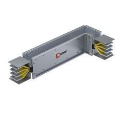 Угловая вертикальная секция c нестандартным плечом 2500 А IP55 AL 3L+N+PE(ШИНА)