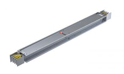 Прямая магистральная нестандартная секция 2500 А IP55 AL 3L+N+PE(ШИНА) длина 1