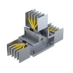 Секция Т-образная вертикальная 2500 А IP55 AL 3L+N+PE(КОРПУС)