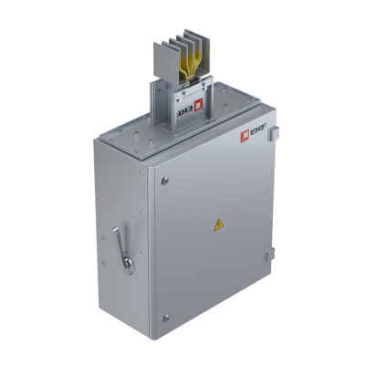 Концевая кабельная коробка 3200 А IP55 AL 3L+N+PE(ШИНА)
