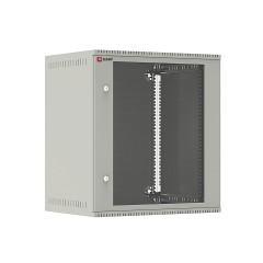 Шкаф телекоммуникационный настенный 12U (600х450) дверь стекло