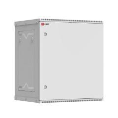 Шкаф телекоммуникационный настенный разборный 12U (600х350) дверь металл