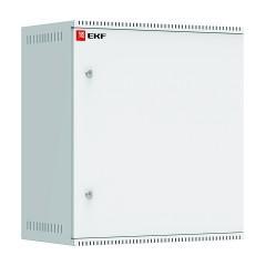 Шкаф телекоммуникационный настенный 12U (600х350) дверь металл