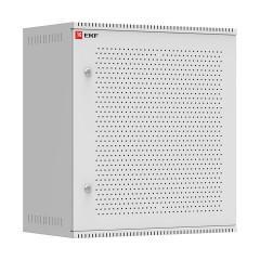 Шкаф телекоммуникационный настенный 12U (600х350) дверь перфорированная