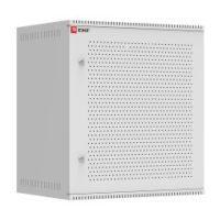 Шкаф телекоммуникационный настенный 12U (600х450) дверь перфорированная