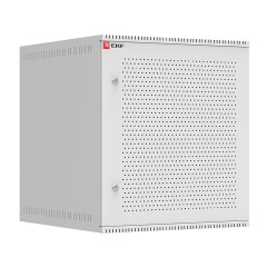 Шкаф телекоммуникационный настенный 12U (600х650) дверь перфорированная