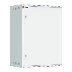 Шкаф телекоммуникационный настенный 15U (600х350) дверь металл