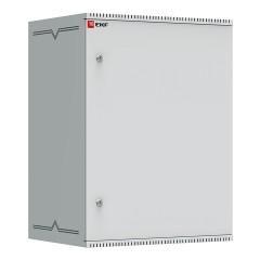 Шкаф телекоммуникационный настенный 15U (600х450) дверь металл