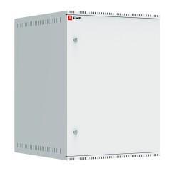 Шкаф телекоммуникационный настенный 15U (600х650) дверь металл