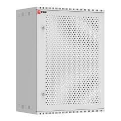 Шкаф телекоммуникационный настенный 15U (600х350) дверь перфорированная