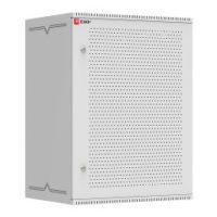 Шкаф телекоммуникационный настенный 15U (600х450) дверь перфорированная