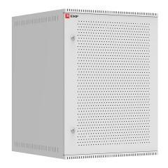 Шкаф телекоммуникационный настенный 15U (600х650) дверь перфорированная