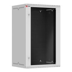 Шкаф телекоммуникационный настенный 18U (600х450) дверь стекло