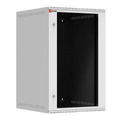 Шкаф телекоммуникационный настенный 18U (600х650) дверь стекло