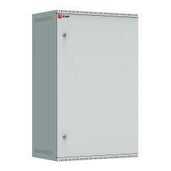 Шкаф телекоммуникационный настенный 18U (600х350) дверь металл