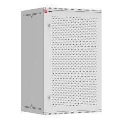 Шкаф телекоммуникационный настенный 18U (600х450) дверь перфорированная